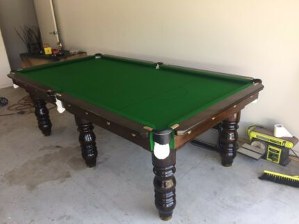 8u0027 slate pool table includes accessories and delivery - Slate Pool Table