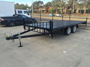 Large agricultural goods car transport machinery trailer 2 ton Mitchell Gungahlin Area Preview