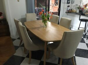 dining table and chairs in melbourne region vic home garden