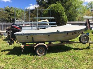 385 Aluminium Boat /30hp merc Armidale Armidale City Preview