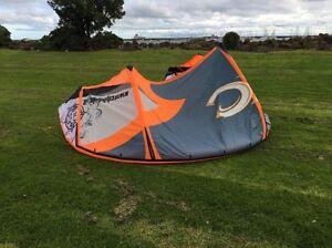 Cabrinha Switchblade 10m kite + bar + kite pump + kite bag Middle Park Port Phillip Preview