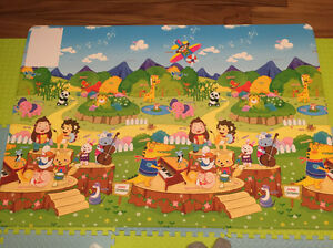 Dwinguler Kid's Playmat baby rug kids floor mat Animal Orchestra Mount Remarkable Area Preview