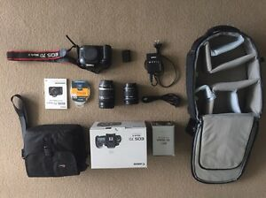 Canon 7d mark ii 2 body with 18-200mm & 10-18mm & accessories Varsity Lakes Gold Coast South Preview