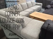 Large Fabric Corner Lounge - 60% Off RRP Dandenong South Greater Dandenong Preview