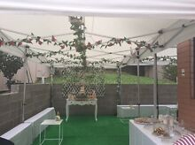 HIRE - Faux rose garland Hunters Hill Hunters Hill Area Preview