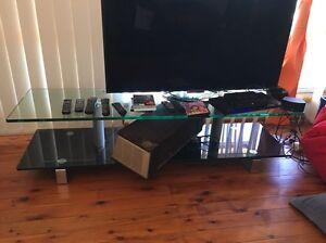 Glass TV Cabinet Peakhurst Hurstville Area Preview