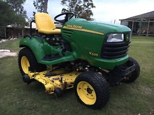 John Deere X595 Diesel Lawn Mower / Tractor Highland Park Gold Coast City Preview