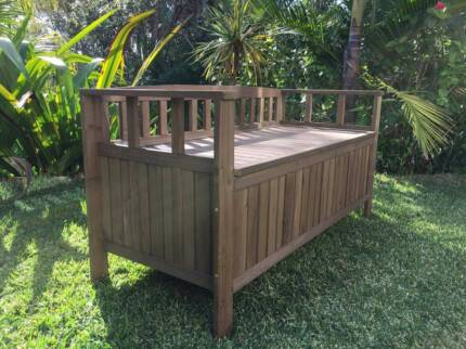 Wooden Outdoor Storage Box Heritage Part 47