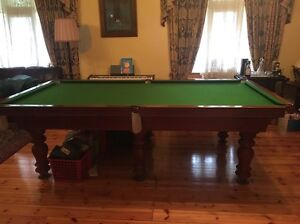 Pool/ billiard table 9 ft gorgeous , ex cond Grange Charles Sturt Area Preview