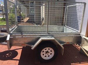 Trailer for hire 7x4 with cage Woodlands Stirling Area Preview
