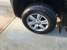 17inch Amarok Aldos rims and tyres Salter Point South Perth Area Preview