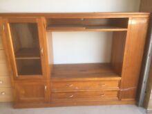 Tasmanian Oak Cabinet Appin Wollondilly Area Preview