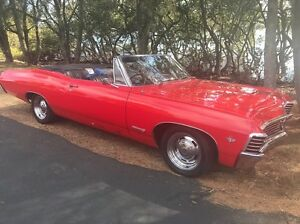 1967 Chev Impala convertible - right hand drive. St Huberts Island Gosford Area Preview