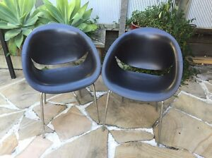 Black Plastic Eames Style Chairs Spring Hill Brisbane North East Preview