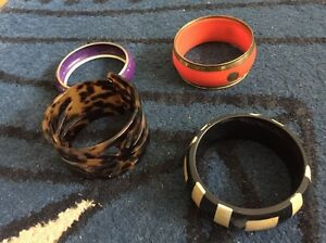 Mixed lot of 4 ladies bangles - cute Woy Woy Gosford Area Preview