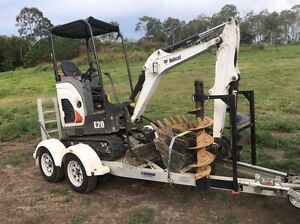 2t excavator dry hire with trailer and attachments from $200 per day Maroochydore Maroochydore Area Preview