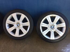4 x 17 inch Genuine BMW wheels with tyres Narellan Camden Area Preview