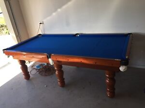 8x4 Slate Pool Table - includes delivery and accessories* Forest Glen Maroochydore Area Preview