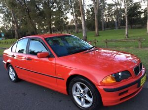 1998 Bmw 318i Sedan Automatic Low Kms Red Liverpool Liverpool Area Preview