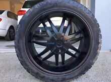 4 x 22 Inch Helo Rims and Tyres Curl Curl Manly Area Preview