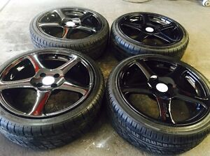 17 inch rims&tyres 4x100 %90 tread Dandenong Greater Dandenong Preview