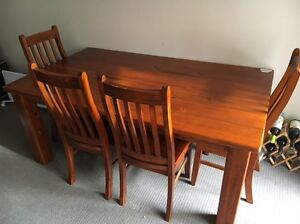 Dinning Table with 6 Chairs Westmead Parramatta Area Preview