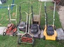 Bulk lot lawn mowers Preston Darebin Area Preview