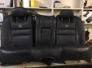 Black leather HSV rear seat only Box Hill The Hills District Preview