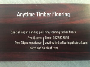 Anytime Timber Flooring Dalkeith Nedlands Area Preview
