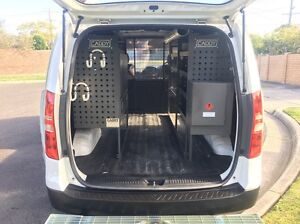 Hyundai iLoad 2012 - with complete Tradesman's setup Mulgrave Monash Area Preview