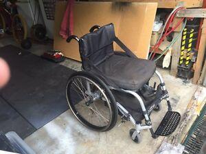 Lightweight Aluminium Box Wheelchair Upper Ferntree Gully Knox Area Preview