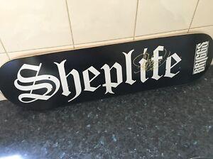 Signed Sheplife skate deck Briggs Merredin Merredin Area Preview