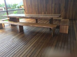 Huge Blackbutt dining table 3.7m x 1.1m Strathfield South Strathfield Area Preview
