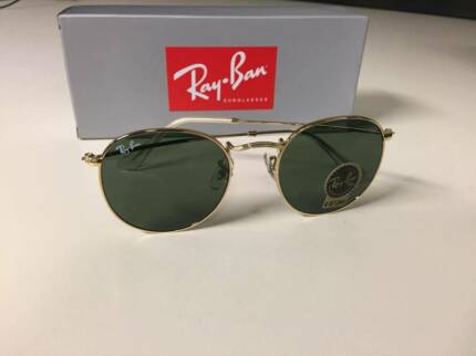 NEW RAY BAN BLAZE CLUBMASTER BLUE MIRROR LENS RB3576N   Accessories ... 117b0518ab