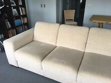 Nick Scali 3 Seater Lounge - Latte Maroochydore Maroochydore Area Preview