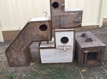 3 Breeding Boxes & 1 Carry Box For Sale Epping Whittlesea Area Preview