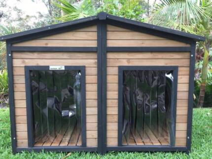 Large Double Dog Kennel