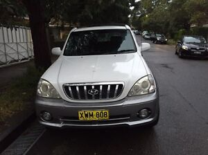 Hyundai Terracan 4WD 2002 Automatic Rose Bay Eastern Suburbs Preview
