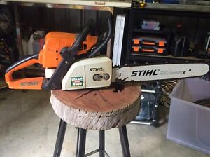 Stihl ms210 chainsaw Armadale Armadale Area Preview
