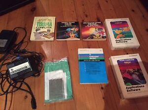Texas Instruments TI99/4A programming books, cartridges & power supply Leichhardt Leichhardt Area Preview