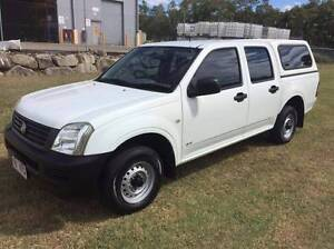 2005 Holden Rodeo 4cyl Dual Cab Ute Eagle Farm Brisbane North East Preview