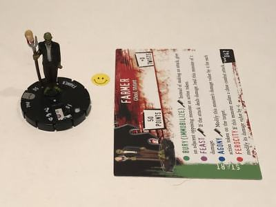 Horrorclix Nightmares Farmer #042 with Card NEW from Booster Pack