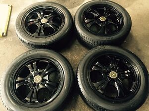 15 inch rims&tyres 4x100 %80 tread Dandenong Greater Dandenong Preview