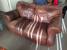 Natuzzi leather sofas 3 and 2 seaters set North Strathfield Canada Bay Area Preview