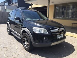 2007 holden captiva lx turbo diesel 7 seater full leather Spotswood Hobsons Bay Area Preview