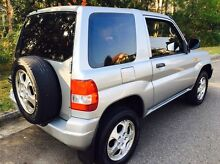 Mitsubishi Pajero IO (4x4) 2000 Coupe Manual Low 195000 Klms Kellyville The Hills District Preview