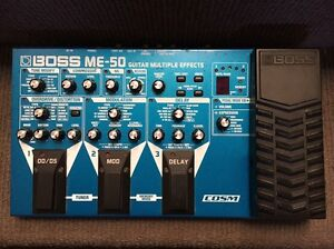 Boss ME50 guitar effects board. Merewether Newcastle Area Preview