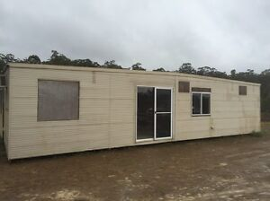 Portable building granny flat home office site shed 12m x 6m The Branch Great Lakes Area Preview