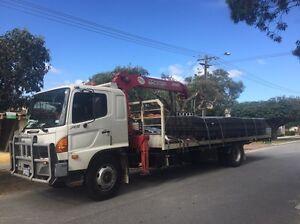 Perths #1 On Demand Hiab/Crane, 9 tonne truck North Lake Cockburn Area Preview