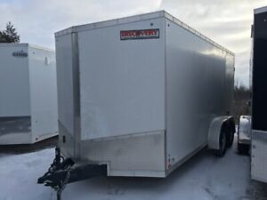 2019 Discovery Trailers 7X16 Cargo Trailer With Barn Doors